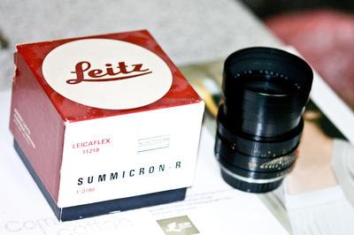 Leitz Wetzlar Elmarit-R 90 mm f/ 2.0 (I)