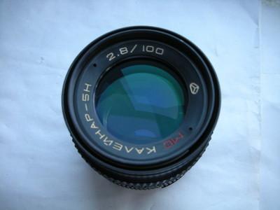 极新俄罗斯100mmf2.8定焦镜头,有德味,收藏使用上品,有包装