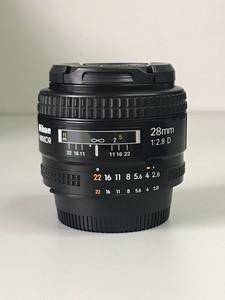 较新的尼康 AF 28mm f/2.8D 相机 广角镜头【天津福润相机行】
