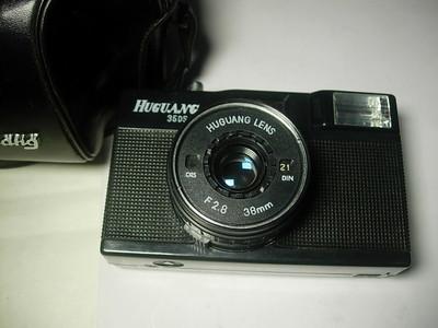 很新少见湖光牌旁轴相机,收藏使用,送皮套