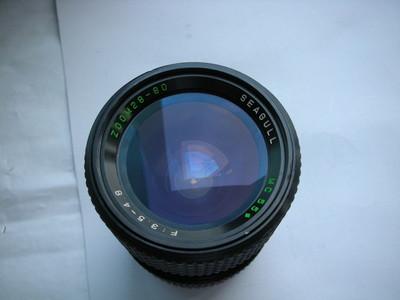很新海鸥28--80mm金属制造镜头,MD卡口,可转配各种数码相机