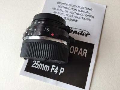 福伦达 Color-Skopar 25mm f/4 P