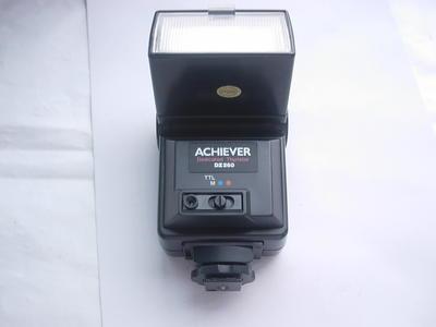 很新雅奇DZ260自动曝光闪光灯,专配理光美能达相机,收藏使用