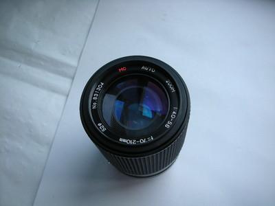 很新进口70--210mm金属制造镜头,PK-A卡口,可配各种相机