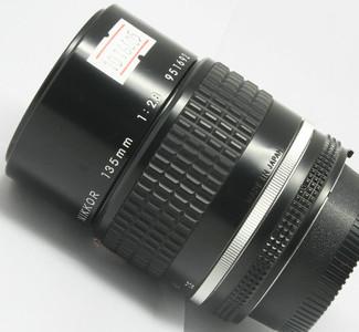 95新 尼康 AIS 135/2.8(6605)