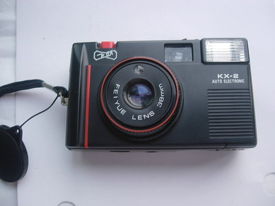 极新飞跃KX--2定焦镜头便携式旁轴相机,有包装说明书,收藏使用