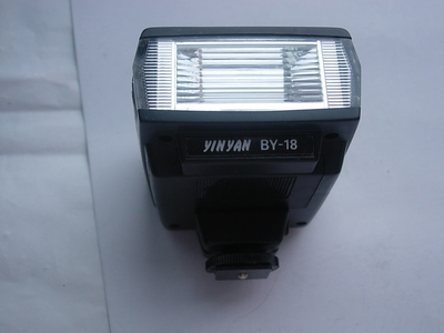 很新银燕BY18通用型闪光灯,可配各种照相机