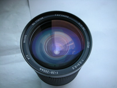 很新日本特龙28--200mm金属制造镜头,PK-A卡口,可配各种相机