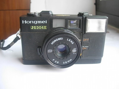 很新红梅JG304E旁轴相机,有多次曝光功能,收藏使用