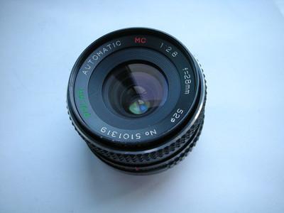 很新日本波拉28mmf2.8金属制造镜头,PK卡口,可配各种相机