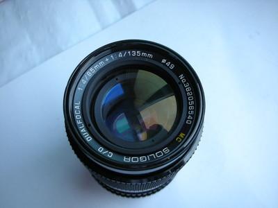 很新日本原装秀丽85mm和135mmF4恒定光圈定焦镜头,收藏使用