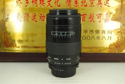 95新 尼康口 适马 75-200 F3.8 蔡司镜片 单反镜头 恒圈 长焦人像