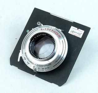 施耐德Schneider XENAR 150mm f4.5  林选红三角镜头