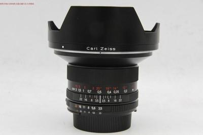 新到 95成新 蔡司18 3.5 ZF 2 尼康口 广角镜头 可交换 编号9399