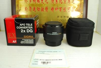 99新 尼康口 适马 2X 增倍镜 APO EX 2倍 长焦镜头增距镜 附加镜