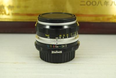 97新 尼康 50mm F2 Auto NIKKOR-H AI手动镜头大光圈人像标头