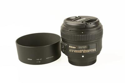 98新 尼康 AF-S 50mm f/1.8G