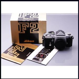 经典收藏品 Nikon 尼康 尖顶 F2 DE-1 全机械 机身