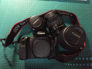 佳能 60D 带3个镜头18-55、55-250、