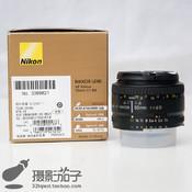 98新尼康 AF 50mm f/1.8D(尼康标头)#9821[支持高价回收置换]