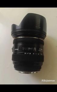 适马 24-70mm f/2.8 EX DG MACRO  佳能口
