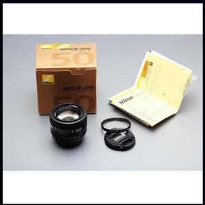 nikon 尼康 50/1.4 AF50/1.4D 99新 全包装