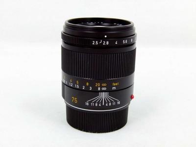 华瑞摄影器材-徕卡Leica Summarit-M 75/ 2.5