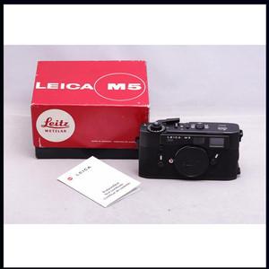 带包装美品 徕卡 LEICA M5 三耳 少见黑色 收藏皆宜