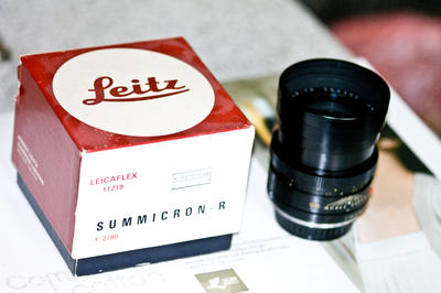 Leitz Wetzlar Elmarit-R 90 mm f/ 2.8 (I)