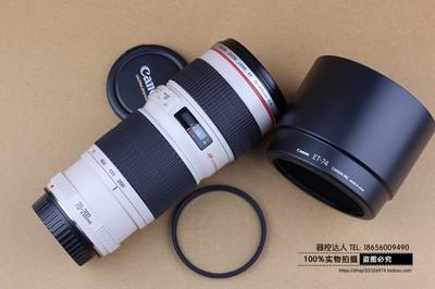99新 canon 佳能 EF 70-200/4 L USM 70-200 小小白 红圈牛头