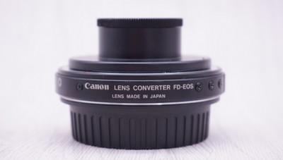 98新佳能 LENS CONVERTER FD-EOS 转接环 增距镜1.26X