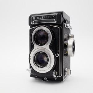 Rolleiflex 禄来双反 3.5T 白脸 后期 极上品 收藏品相