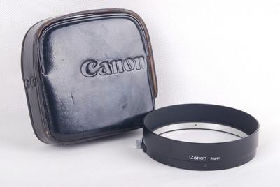 佳能 50/0.95镜头专用遮光罩黑色金属光罩带皮套#jp19671