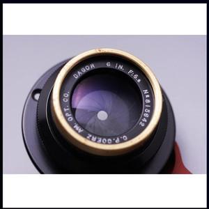 清仓甩卖 稀有名镜 金圈 dagor 6IN F6.8 150/6.8 大画幅镜头