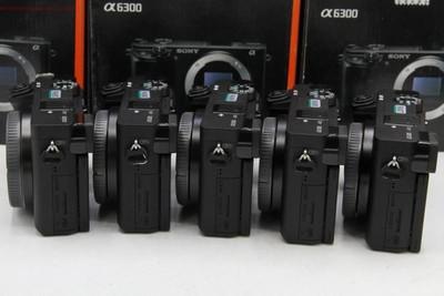 新到 5台 索尼A6300 大陆行货配件齐全 可交换 编号9405-9409