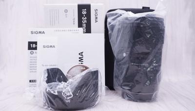 99新 带包装 适马 18-35/1.8 DC HSM(A) 佳能口