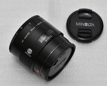美能达索尼50mmF2.8微距镜头1:1