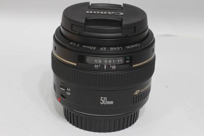 【标准定焦镜头】佳能 EF 50/1.4 USM(NO:3206)