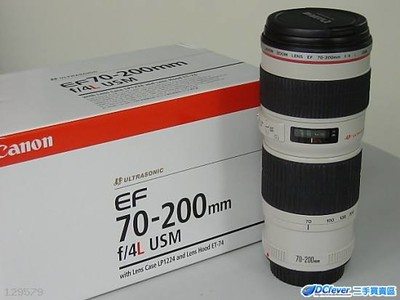 佳能 EF 70-200mm f/4L IS USM(小小白IS)