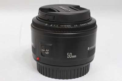 【标准定焦镜头】佳能 EF 50/1.8 II(NO:0481)
