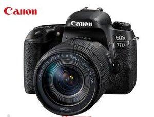 佳能EOS 77D单反相机和佳能18-135mm