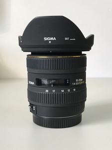 适马数码超广角 10-20mm f/4.0-5.6 EX DC HSM(佳能卡口)