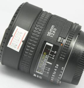 95新 尼康 AF Fisheye 16/2.8D(6594)