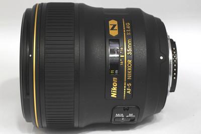 【全画幅广角定焦镜头】尼康 AF-S Nikkor 35/1.4G(NO:0211)