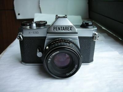 极新珠江宾得K1000金属制经典单反相机带50mmf2镜头,收藏使用