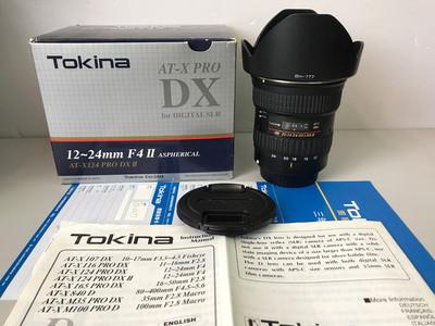 图丽AT-X 12-24mm F4 PRO DX II 佳能EF口 【天津福润相机行】