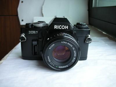 极新理光XR7经典单反相机带50mmf1.7镜头,收藏精品