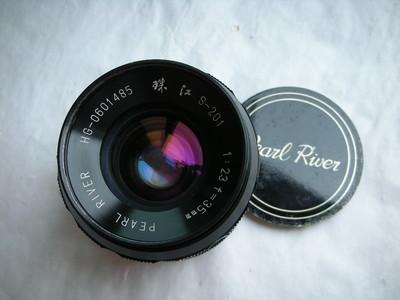 极新珠江35mmf2.3经典镜头,有包装盒说明书合格证,收藏使用上品