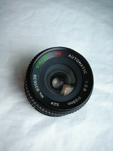 很新日本SIRIUS金属制造镜头,28mmf2.8,PK卡口