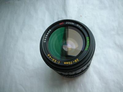 很新海鸥28--70mm金属制造镜头,MD卡口,可配各种相机